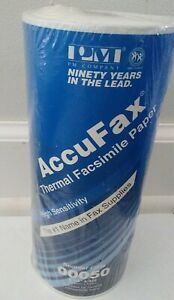 New Accufax Thermal Facsimile Paper High Sensitivity 8 1 2 X 328 Fax 00050