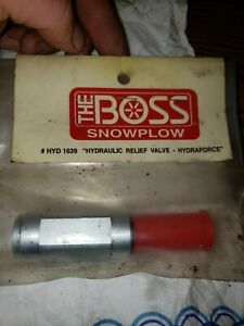 Boss Snow Plows Vplow Relief Valve 2800 Psi Hyd01639