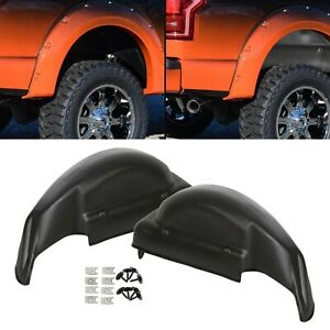 Rear Wheel Well Guards Inner Fender Liners Fit 2006 2014 Ford F 150