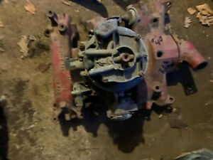 1955 57 Ford Thunderbird 292 312 4 Barrel Intale With Holley Carbuator