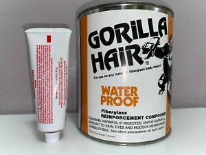 Gorilla Hair Water Proof Fiberglass Reinforced Body Filler Quart Gallons