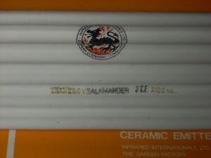 Six New In Box Salamander Parabolic Infrared Ir Ceramic Heater 240v 200w Ireland