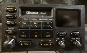 Geo Chevrolet Delco Radio And Cassette Player Model 30010113 Clean Works