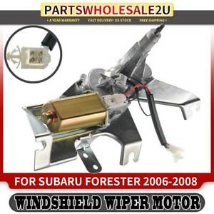 Rear Windshield Wiper Motor For Subaru Forester 2006 2007 2008 Station Wagon