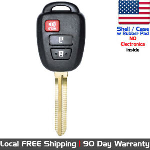 1x New Replacement Keyless Entry Remote Key Fob Case For Toyota Shell Only
