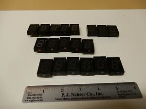 Lot Of Large Used Seven Segment Displays Unknown Make