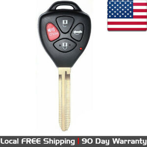 1x New Replacement Keyless Entry Remote Control Key Fob For Toyota Gq4 29t