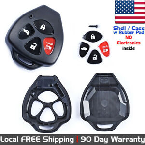 1x New Replacement Keyless Entry Remote Control Key Fob For Toyota Case Shell