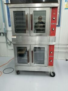 Vulcan Vc4ed 10 Electric Double Deck Full Size Convection Ovens