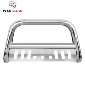 Yitamotor 3 Bull Bar Push Bumper Grille Guard For 08 21 Toyota Tundra sequoia