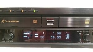 sony Rcd w500c 5 Cd Changer Compact Disc Recorder W Remote Works Flawlessly