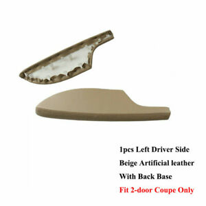 Fit For Honda Accord Coupe Beige Leather Front Left Door Panels Armrest Cover
