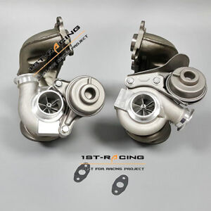 Upgraded Td04 16t State 2 Twin Turbos For Bmw 135i 335i 535i 3 0l N54 650hp