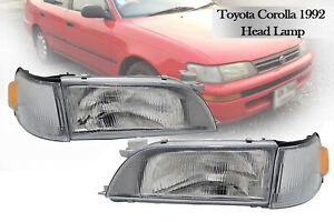 Nissan Jdm Skyline R34 Gtt Gts Oem Ichicko Black Headlight Lamp Lights Bnr34 Set