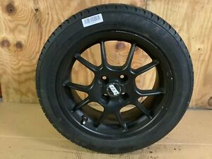 2009 Mini Cooper S Convertible Wheel Tire Doral 205 50r16 87h Rim Bbs Oem