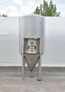 Used 2164 Gallon Jacketed Stainless Steel Tank