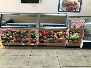 Used Commercial Restaurant Equipment Subway Fridge Deli Food Display Working