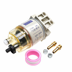 Water Separator Fuel Filter For Racor R12t Marine Diesel Spin On Housing 120at