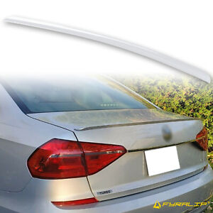 Fyralip Y22 Painted Lc9a Pure White Trunk Lip Spoiler For Vw Passat Nms 12 19