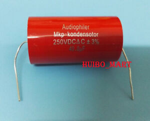 1pc Audiophiler Mkp kondensotor 250v 47uf Audio Capacitor