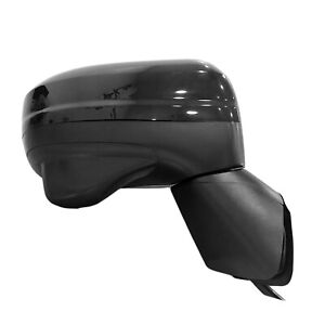Black Passenger Side Door Mirror With Side View Camera 128 64825r