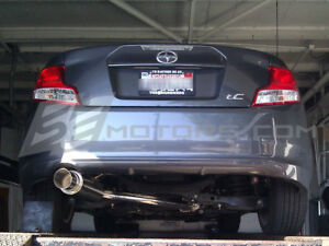 Tsudo Performance Racing S2 Cat Back Exhaust For Scion Tc 11 12 13 14 15 16 17