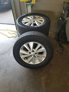 17 Kia Sedona Rims And 265 55 Tires