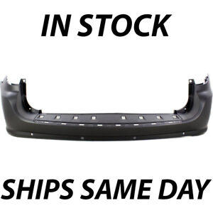 New Primered Rear Bumper Cover Replacement For 2011 2019 Dodge Grand Caravan