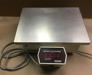 Hobart Commercial Deli Meat Butcher Retail Scale 30 Lbs Max