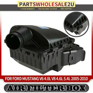 Air Cleaner Intake Filter Box For Ford Mustang 4 0l 4 6l 5 4l 05 10 7r339600aa