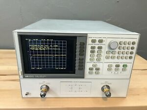 Hp Agilent 8720b Network Analyzer 130 Mhz 20 Ghz 2 Channel New Lcd Opts 003 010