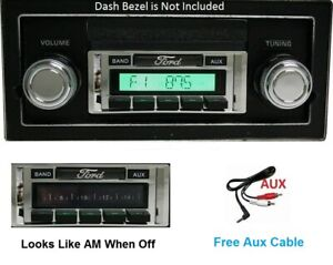 1968 1972 Ford Truck Radio With Free Aux Cable Included 230 Stereo