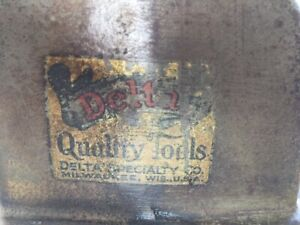 1931 1932 Rare Vintage Delta Wood Lathe Comes With Everything Seen
