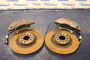 2017 Ford Mustang Gt Coyote V8 Oem Brembo Front Brake Calipers Rotors 1258