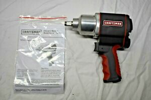 New Craftsman 1 2 Inch Drive Air Impact Wrench 16882