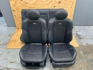 Amg Leather Seat Seats Set Front Rear Oem 03 06 Mercedes E320 E350 E500 E55 W211