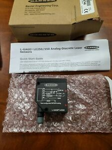 Banner Electric Le550iq Laser Displacement Sensor