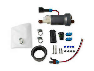 Holley 470 Lph Silver Universal In Tank Fuel Pump Kit Gasoline Efi Fuel System