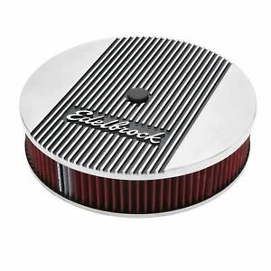 Edelbrock 4266 Elite Ii Series 14 In Round Air Cleaner Assembly