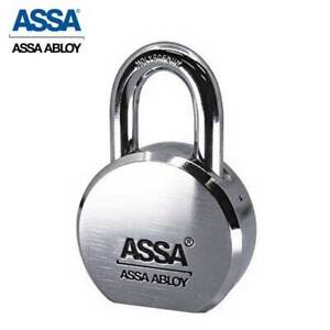 Max Maximum High Security Restricted Solid Steel Kik Padlock With 1 Shackle