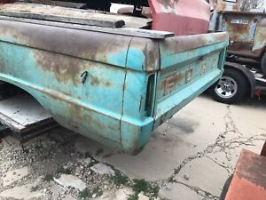 1966 66 Ford Truck 8 Bed Original Green Paint