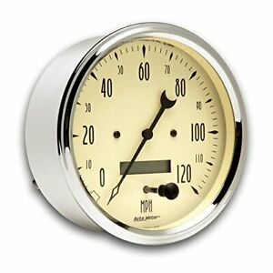 Auto Meter 1889 Antique Beige Speedometer