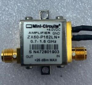 Mini Circuits Zx60 p162ln 0 7 1 6 Ghz Amplifier