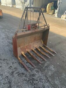 Bucket rake With Hydraulic Winch