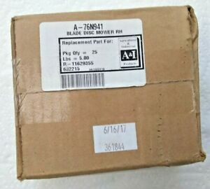A I Products A 76n946 R h Disc Mower Blades Box Of 25