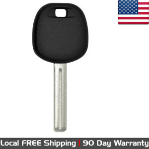1x New Replacement Transponder Ignition Blank Insert Key For Toyota And Scion