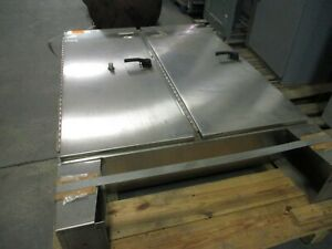 Hoffman Stainless Steel Type 12 Enclosure A 72x6112sslp Size 72x61x12 Used
