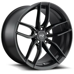 New Staggered Niche Wheels M203 Vosso 19x8 5 19x9 5 5x120 35 40 Matte Black