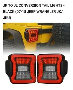 Jeep Taillights American Modified Led For 2007 2018 Jk Jku