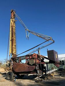 Bucyrus Erie 28l Drilling Rig Well Drilling Cable Tool Rig